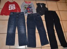 Lot de 6 vêtements garçon 6 ans , t-shirts jeans Spiderman, Okaidi