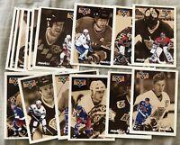 1991-92 Pinnacle French NHL Idols 15 card set Gretzky Messier Orr Roy Yzerman