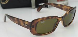 Ray Ban RB4122 642/73 Women's 50mm Havana Frame Brown Lens Sunglasses NEW