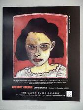 Gregory Grenon Art Gallery Exhibit PRINT AD - 2002