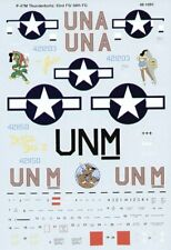 Microscale Decals 1/48 Republic P-47M Thunderbolt 63rd FS/56th FG Boxted # SS481