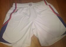 ADIDAS NBA AUTHENTIC LA CLIPPERS GAME WORN 2xLARGE BASKETBALL SHORT