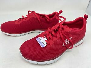 Womens Skechers 13070 Flex Appeal 3.0 First Insight Red sneakers (71Y)