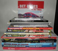 ** Buses- British Buses - Related Interest, Joblot, Large Amount, HB/PB Collec