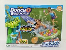 Zuru 16 Ft One Lane Water Slide Wipeout With 100 Bunch O Balloons Kids Outdoor