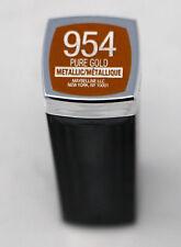 Maybelline Color Sensational Metallic Lipstick 954 Pure Gold 0.15 Ounce