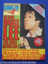 Kung Fu Monthly No. 56   Bruce Lee    ' Postermag '   1980s