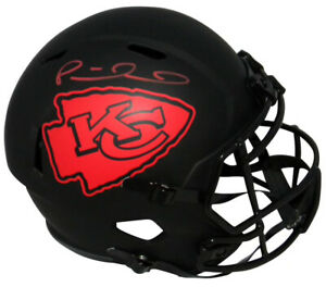 PATRICK MAHOMES Autographed Chiefs Full Size Speed Eclipse Helmet FANATICS