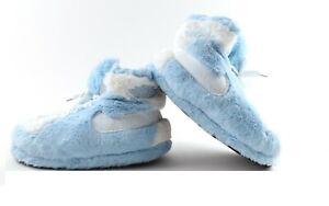 JORDAN 1 UNISEX  FOAM NOVELTY TRAINER BABY BLUE  SNEAKERS SLIPPERS SNUG SLIPPER