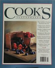 Cook's Illustrated July Aug 2017 Thai Grilled Chicken Steak FREE SHIPPING sb