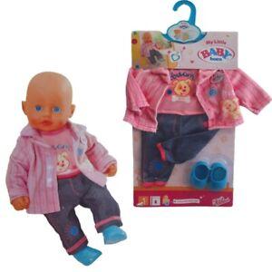My Little Baby Born Kleidung Kindergarten Outfit Puppenkleidung für 32 cm Puppen
