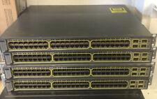 Cisco Catalyst 3750 Series PoE 48 Port Switch
