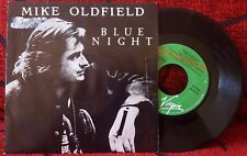 "MIKE OLDFIELD *** Blue Night *** VERY RARE & SCARCE 1989 Spain PROMO 7"" Single"