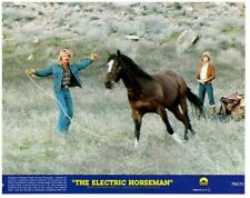 Électrique Horseman Original 8x10 Lobby Carte Robert Redford Jane Fonda Sauvage