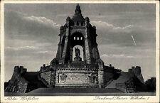 Porta Westfalica AK 1935 Ehrenmal Monument Turm Kaiser Wilhelm Denkmal Bauwerk
