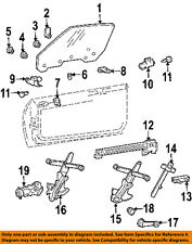 GM OEM Front Door-Window Regulator 88960088