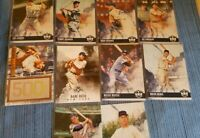 2018 panini diamond kings baseball cards..super star lot(10)