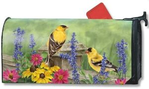 Magnet Works Golden Finches Large Mailwrap #Z7B2