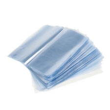 200x Shrink Heat Wrap Bags Seal Packaging Protector For Soap Bath Bomb Pack