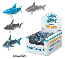 1 x Kids Bath Time Play Vento fino Orologio Squalo pesci giocattolo bambino Party Bag TOYS