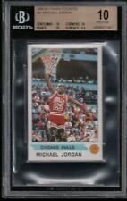 BGS 10 PRISTINE MICHAEL JORDAN 1990-91 Panini Stickers #91 Chicago Bulls RARE