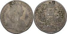 XVII Kreuzer 1762 RDR Österreich Habsburg Wien Maria Theresia, Adler #FDP69