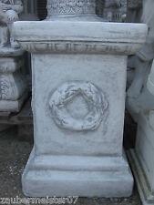 Sockel Säule Podest 57 cm hoch Steinguss 99 kg frostbeständig Blumensäule neu