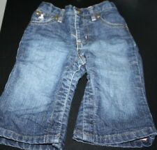 Baby Gap Jeans Girls size 6-12 months Pants Pink Lined Warm Winter Infant  -D