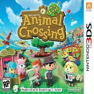Animal Crossing New Leaf - 3DS Game