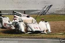 "Le Mans Driver Andre Lotterer Hand Signed Photo Audi 12x8"" AC"