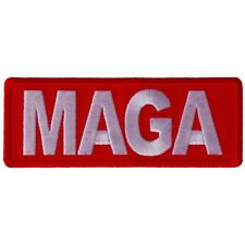 MAGA - MAKE AMERICA GREAT AGAIN - IRON or SEW ON PATCH