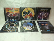 Lot of Pre-Owned Pc Games Magic The Gathering, Starcraft, Ultima Online. Etc.