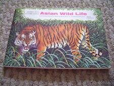 Asian Wild Life Album & Cards By Brooke Bond