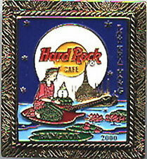 Hard Rock Cafe BANGKOK 2000 Loy Kratong Festival FRAMED PIN - HRC Catalog #911