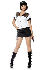 Sexy Police Officer Costume Small Law Enforcement