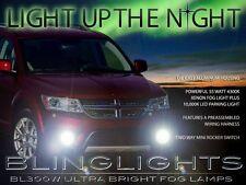 2011 2012 2013 2014 Dodge Journey Xenon Halogen Fog Lamps Driving Lights Kit Set