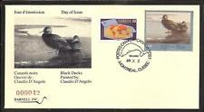 CANADA QUEBEC PROVINCE # QW2 WILDLIFE CONSERVATION 1989 FIRST DAY COVER  (2)