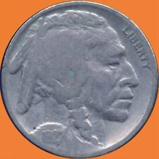 United States 1927 1929 1936 & 1937 'S' Buffalo Nickel Coins