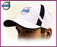 Volvo baseball Cap, unisex hat, white. Adjustable size with embroidered logo!!