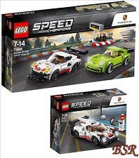 LEGO® Speed Champions: Porsche 75887 & 75888 & 0.-€ Versand &  NEU & OVP !
