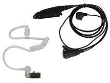 PTT Acoustic Tube Headphone For Motorola GP328 GP338 GP360 GP380 GP340 Radios