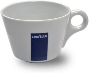 Lavazza Blu Collection Cappuccino Cups, Pack of 6, Coffee Cups, Porcelain, White