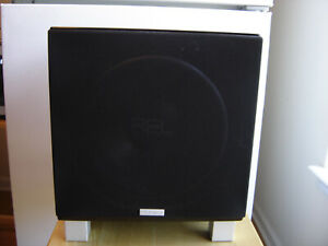 """REL Acoustics T7 Subwoofer 200 Watt 8"""" Sub Tested Great Condition Local pick up"""
