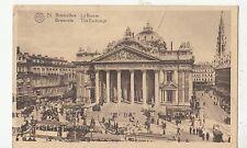 BF19293 bruxelles la bourse tramway  belgium front/back image