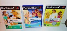 PS3 Singstar gamesbundle chansons pop KARAOKE MUSIQUE famille PlayStation multijoueur
