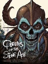 QUEENS OF THE STONE AGE 2018 LA CONCERT PRINT/POSTER NC WINTERS xx/550 n.c. l.a.