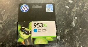 Genuine HP 953XL Cyan Ink Cartridges For HP OfficeJet Pro - EXP 2023