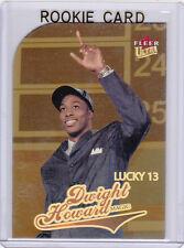 DWIGHT HOWARD ROOKIE CARD Fleer Ultra LUCKY 13 GOLD MEDALLION Insert 2004/05 RC