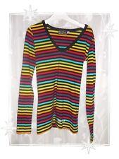 B - Haut T-shirt Rayée Multicolore Little Marcel Taille XS - 16 ans