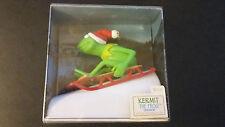 NIB 1981 KERMIT THE FROG Hallmark Ornament - Muppets - QX4242